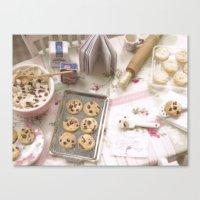 Baking Memories Canvas Print