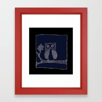 Hibou Framed Art Print