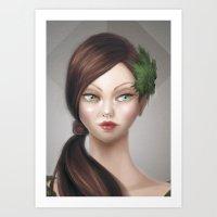 Demetria - Detail Art Print