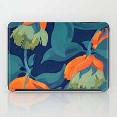 Tropical orange fruit tree iPad Case