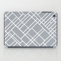 Map Outline Grey 45  iPad Case