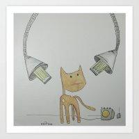 dc-14: 'clementine' Art Print