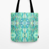 Water And Light Reflecti… Tote Bag