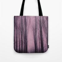 Woods red Tote Bag