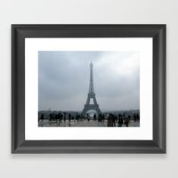 Eiffel Tower. Framed Art Print