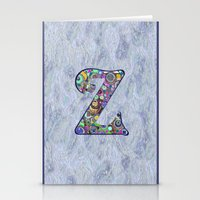 The Letter Z Stationery Cards