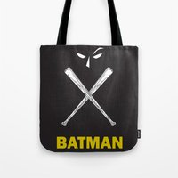 bat man Tote Bag