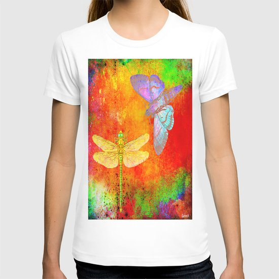 The Dragonfly and the Butterfly T-shirt