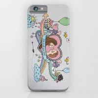 iPhone & iPod Case featuring Valentine's Doodle by Duru Eksioglu