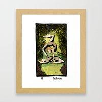 The Lovers Framed Art Print