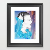 PLANET EARTH IS BLUE... Framed Art Print