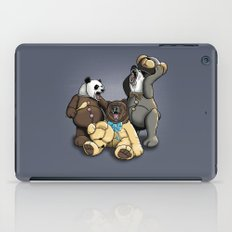 Three Angry Bears iPad Case