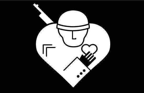Soldier of Love Art Print