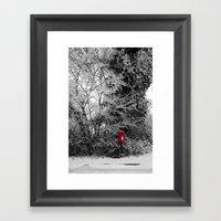 {Christmas Post} Framed Art Print
