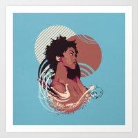 =Lauryn Hill///Killing M… Art Print