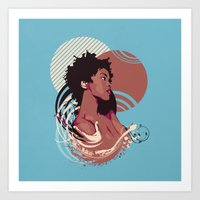 =Lauryn Hill///Killing Me Softly With This Song= Art Print