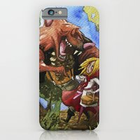 iPhone & iPod Case featuring Red Hood by Jose Luis Ocana