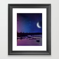 Night - From Day And Nig… Framed Art Print