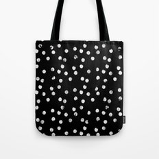 White Dots Tote Bag