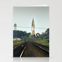 Railwaystation Martini Stationery Cards