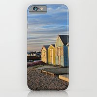 iPhone & iPod Case featuring Sunkissed chalets by Shalisa Photography