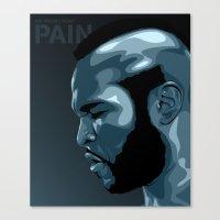 PAIN! Canvas Print