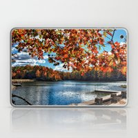 Fall Day at the Lake Laptop & iPad Skin