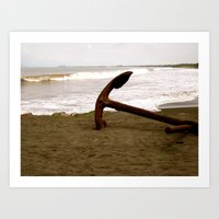 Anchors To Stay Art Print