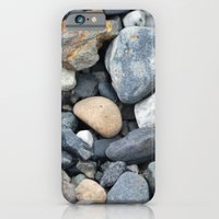 iPhone & iPod Case featuring Rocks Pebbles Stones :: Alaskan Sand by RipdNTorn
