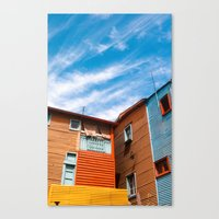 Colors At Caminito Canvas Print