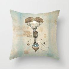 Asteroid Brain Diagnosti… Throw Pillow