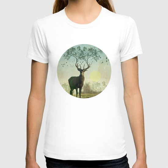 Evergreen Stage Horn T-shirt