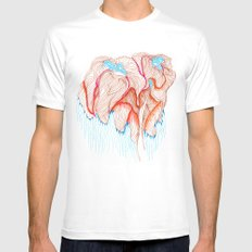 IVY White Mens Fitted Tee SMALL