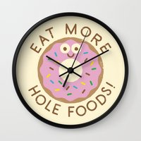 Do's And Donuts Wall Clock