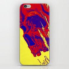 futuristic skull iPhone & iPod Skin