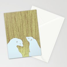 bears in the forest Stationery Cards
