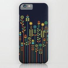 Overgrown flowers iPhone 6 Slim Case