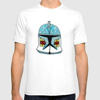 Celtic Clone Trooper Mens Fitted Tee White SMALL