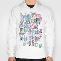 Passport Stamps Hoody