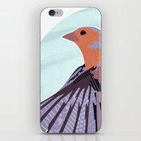 Chaffinch In Flight iPhone & iPod Skin