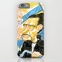 iPhone & iPod Case featuring Ghost Rider by Chris Carfolite