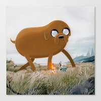 Finn & Jake Canvas Print
