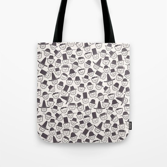 Cats With Hats Tote Bag