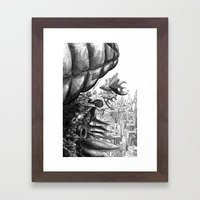 Sky Bird Framed Art Print