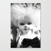 Dolls In Grandma's Attic… Canvas Print