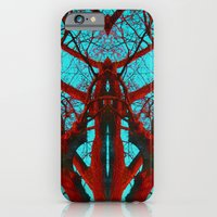 iPhone & iPod Case featuring Can you believe what life can come from a tree? by Pink grapes