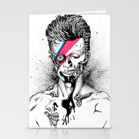 Zombowie Stationery Card
