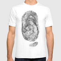 Detective Thumb Mens Fitted Tee White SMALL