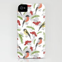 iPhone 4s & iPhone 4 Cases featuring Birds. by Julia Badeeva