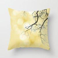 Honey & Vanilla Throw Pillow